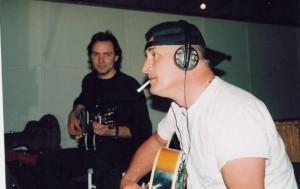 Alex with Jan Akkerman