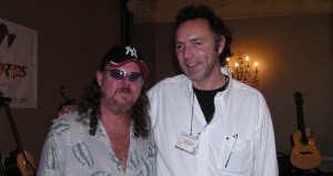 Buster B. Jones and Alex at the CAAS 2005 Festival