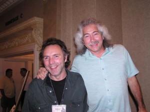 Alex with Stephen Bennett