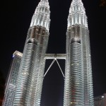 Kuala Lumpur by night.......The  Twin Towers